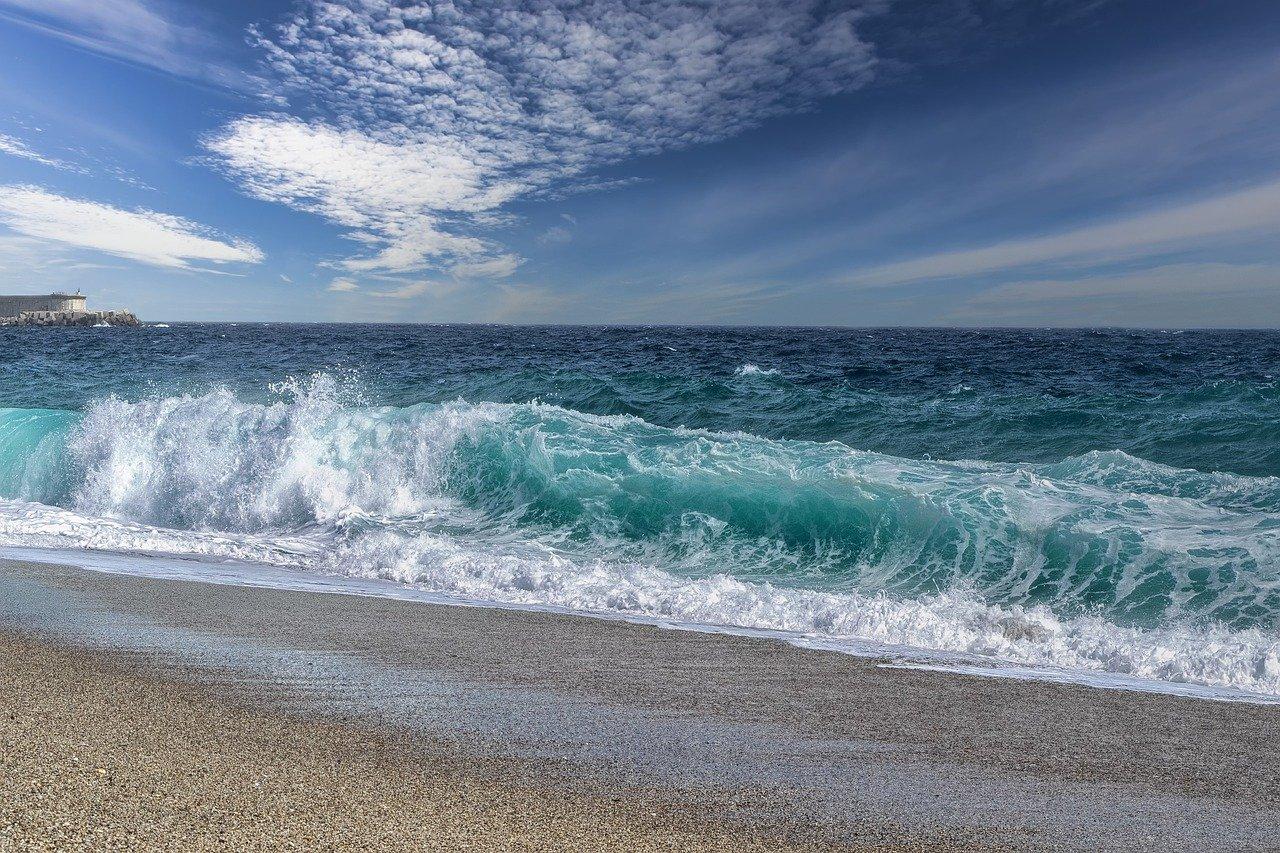 beach, coast, sea